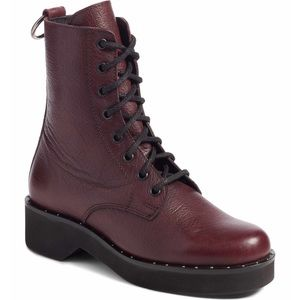 Steve Madden Rocco Combat Ankle Boots Size 7.5